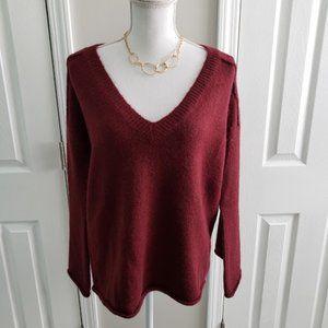 EUC Ruby Moon V Neck Sweater SZ XS